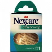 3m nexcare athletic wrap (ref n1675w 3m  x 7.5 cm)