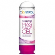 CONTROL GEL SENSUAL MASSAGE SENSITIVE - LUBRICANTE (150 ML)