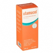 UTAMUCOL 2,5 mg/ml SUSPENSION ORAL , 1 frasco de 200 ml