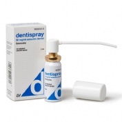 DENTISPRAY 50 mg/ml  SOLUCION DENTAL , 1 frasco de 5 ml