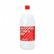 Alcohol 96º - cinfa (1 frasco 1000 ml)
