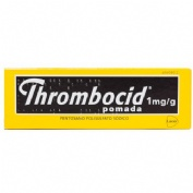 THROMBOCID 1mg/g POMADA, 1 tubo de 30 g