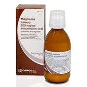 MAGNESIA LAINCO 200 MG/ML SUSPENSION ORAL , 220 ml